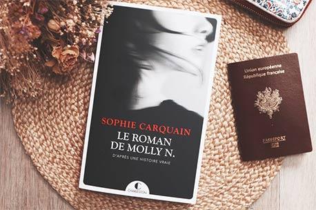 Avis lecture Le roman de Molly N de Sophie Carquain