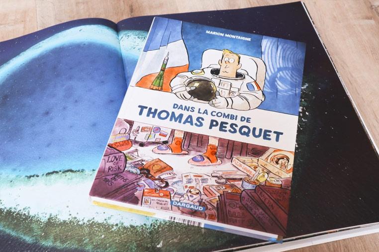 Avis lecture Dans la combi de Thomas Pesquet de Marion Montaigne