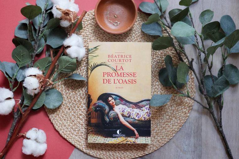 Avis lecture La promesse de l'oasis de Béatrice Courtot