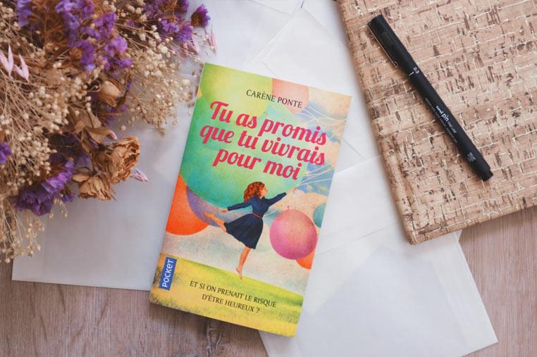 Avis lecture Tu as promis que tu vivrais pour moi de Carène Ponte