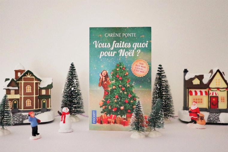 Avis lecture Vous faites quoi pour Noël ? de Carène Ponte