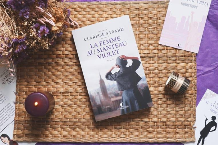 Avis lecture La femme au manteau violet de Clarisse Sabard