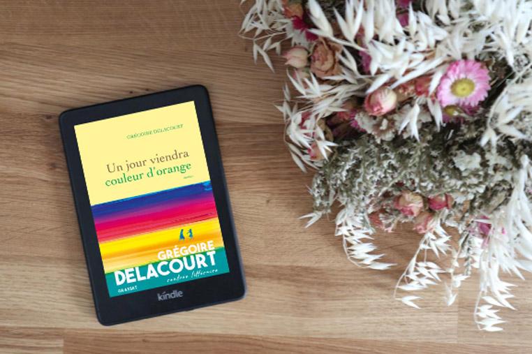 Avis lecture Un jour biendra couleur d'orange de Grégoire Delacourt