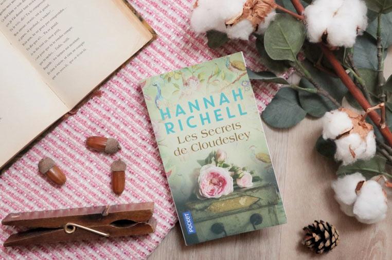 Avis lecture Les secrets de Cloudesley d'Hannah Richell
