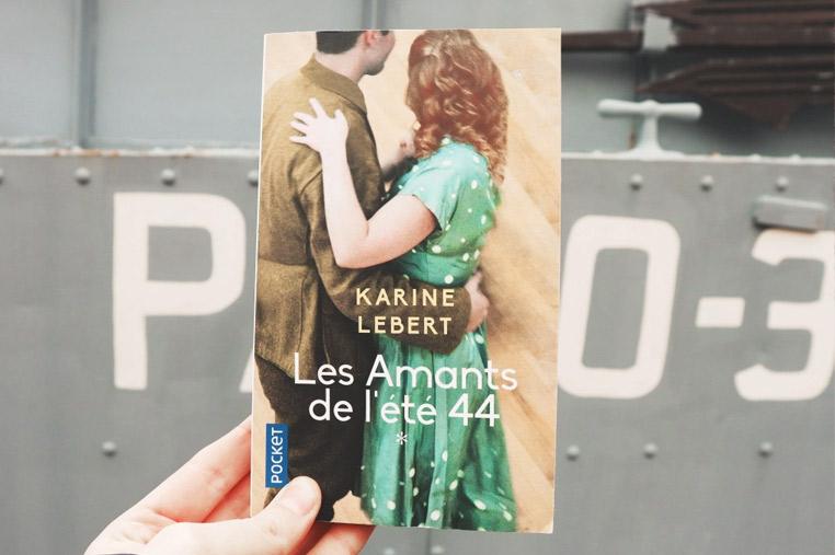Avis lecture Les amants de l'été 44 de Karine Lebert