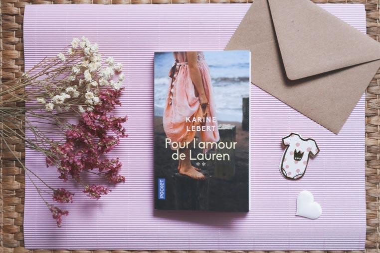 Avis lecture Pour l'amour de Lauren de Karine Lebert