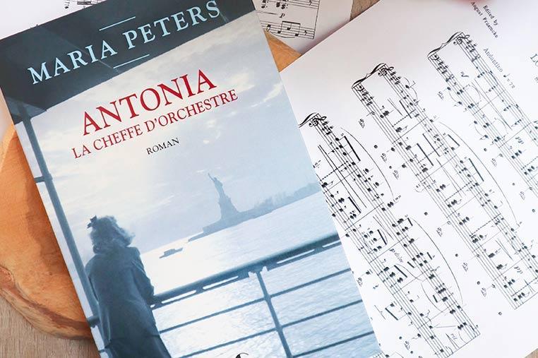 Avis lecture Antonia : Cheffe d'orchestre de Maria Peters