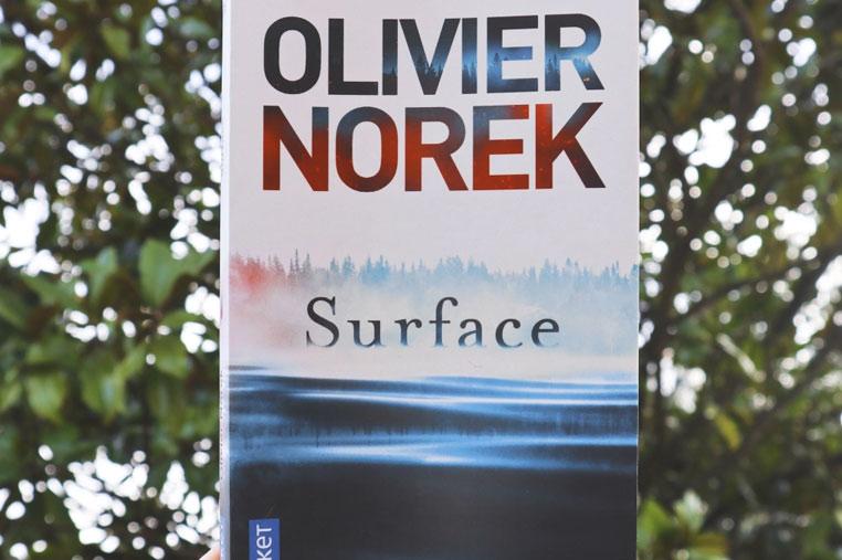 Avis lecture Surface d'Olivier Norek