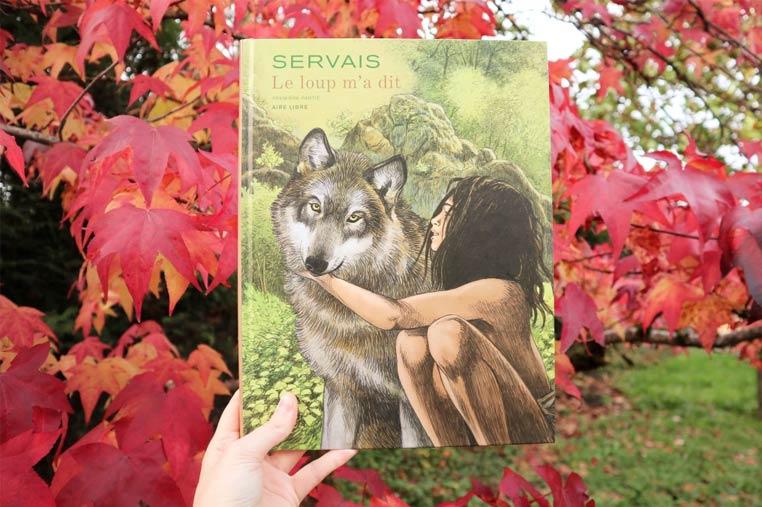 Avis lecture Le loup m'a dit de Servais