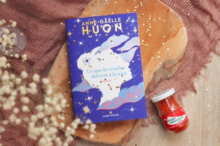 Avis lecture ce que les étoiles doivent à la nuit d'Anne-Gaëlle Huon